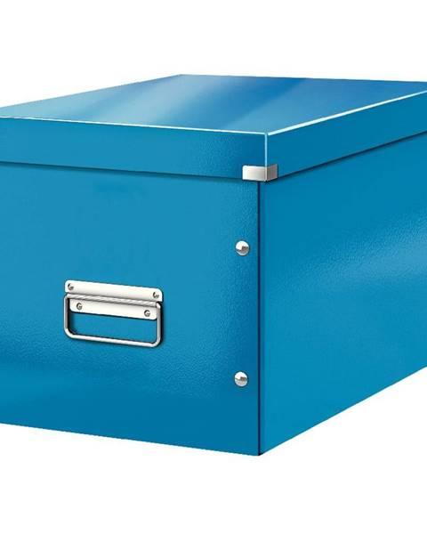 Leitz Modrá úložná krabice Leitz Office, délka 36 cm