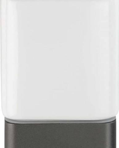 Bílo-šedý kelímek na kartáčky Wenko Montella