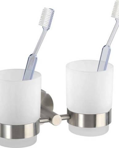 Nástěnné kelímky na zubní kartáčky Wenko Bosio