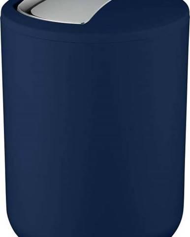 Tmavě modrý odpadkový koš Wenko Brasil Dark Blue S