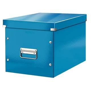 Modrá úložná krabice Leitz Office, délka 36 cm