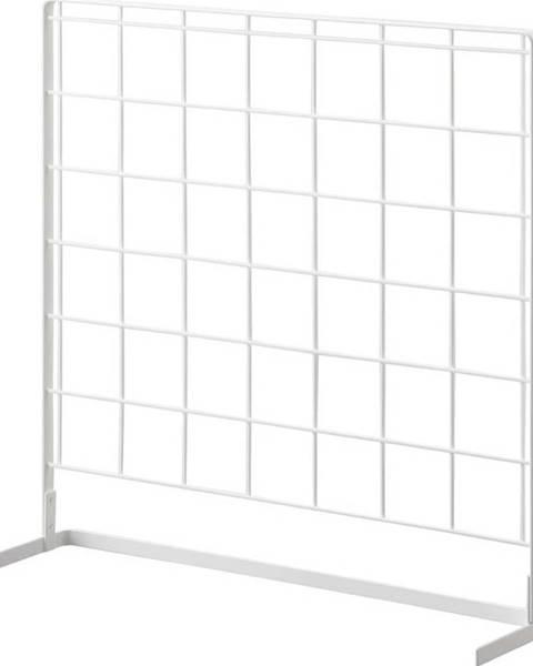 YAMAZAKI Bílý kuchyňský mřížkový panel YAMAZAKI Tower Grid, 52x52cm