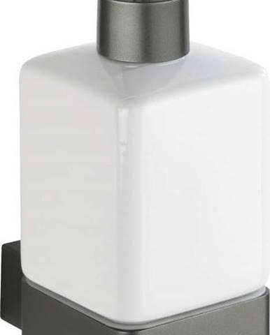 Bílo-šedý dávkovač mýdla Wenko Montella
