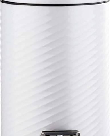 Bílý pedálový odpadkový koš Wenko Spiro, 3 l