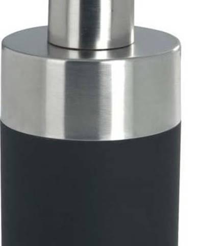 Černý dávkovač na mýdlo Wenko Creta