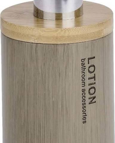 Dávkovač mýdla s bambusovým detailem Wenko Palo, 310 ml