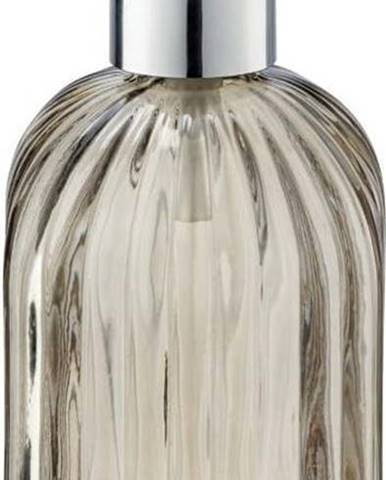 Hnědý skleněný dávkovač mýdla Wenko Vetro