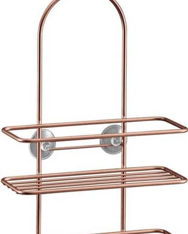 Koupelnová závěsná polička Metaltex Copper