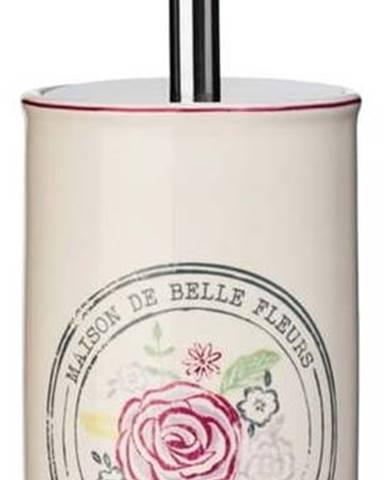 Krémový toaletní kartáč z kameniny Premier Housewares Belle