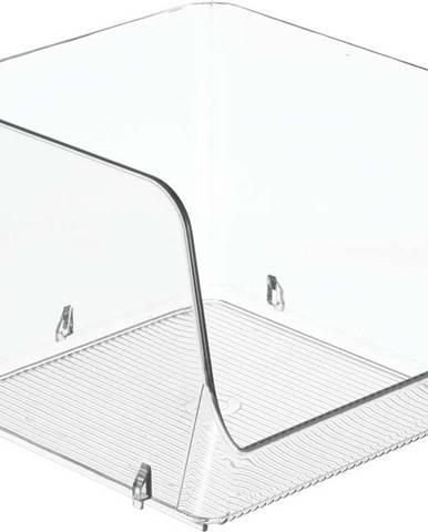 Průhledný úložný box iDesign, 15,8x15,2cm
