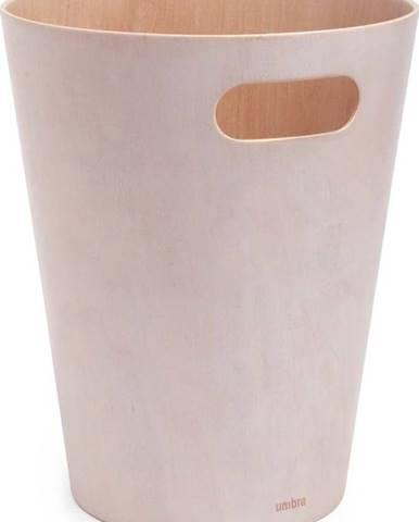 Světle žlutý odpadkový koš Umbra Woodrow, 7,5l