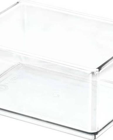 Transparentní úložný box iDesignTheHomeEdit, 11,9x16cm