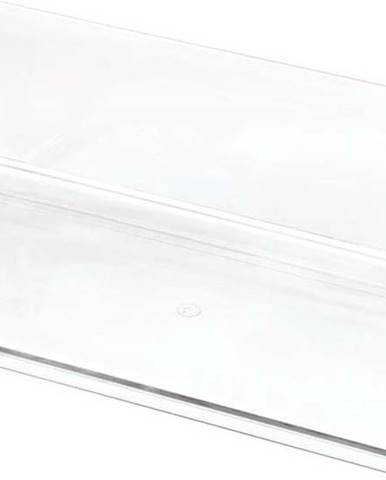 Transparentní úložný box iDesignTheHomeEdit, 11,9x24cm