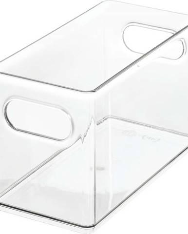 Transparentní úložný box iDesignTheHomeEdit, 25,4x12,7cm