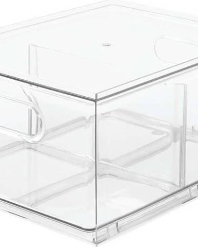 Transparentní úložný box iDesignTheHomeEdit, 34x25,3cm