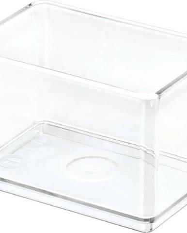 Transparentní úložný box iDesignTheHomeEdit, 7,9x11,9cm