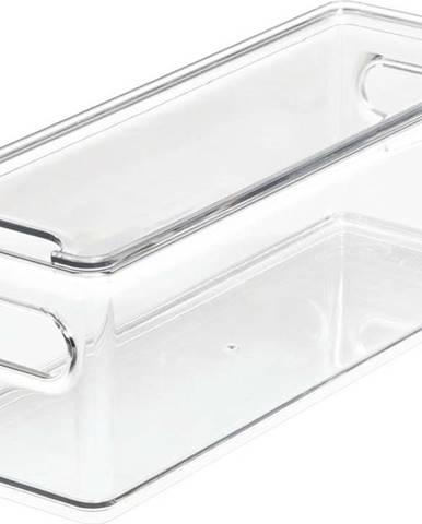 Transparentní úložný box s víkem iDesignTheHomeEdit, 31,1x10,8cm
