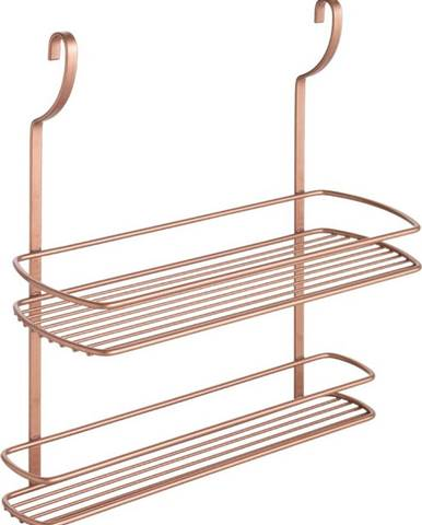 Závěsná polička s dvěma patry Metaltex Copper