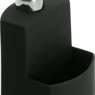 Černý dávkovač na tekuté mýdlo Wenko Festival