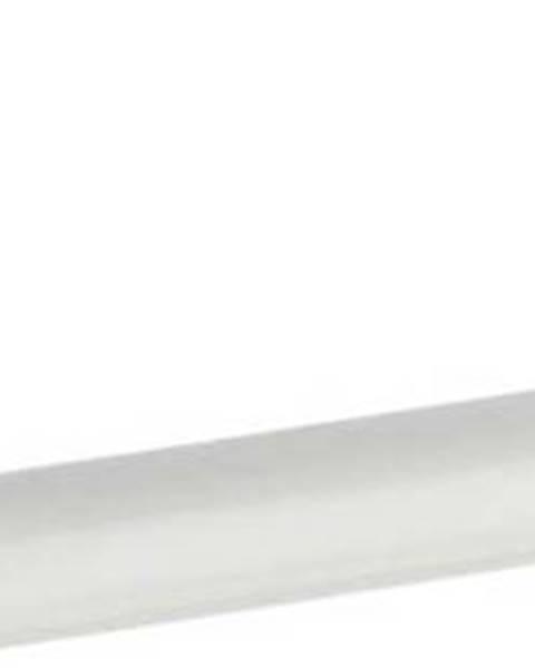 WENKO Bílý nástěnný držák na ručníky Wenko Basic, 30 cm