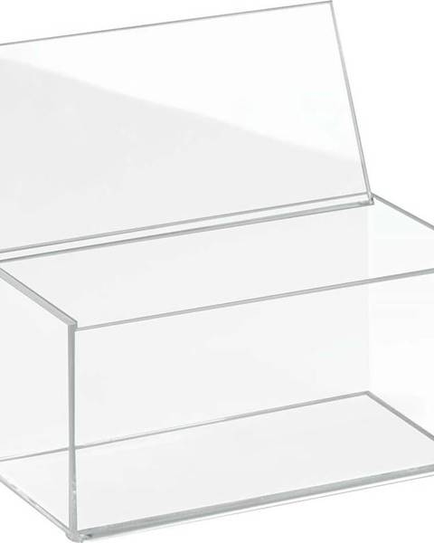 iDesign Transparentní organizér s víkem iDesign Clarity
