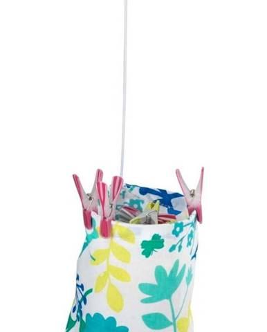 Bavlněná závěsná taška na kolíčky Wenko Peg