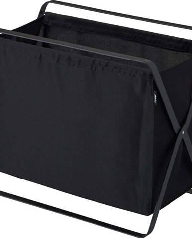Černý úložný koš YAMAZAKI Storage