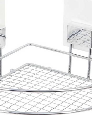 Nástěnná rohová samodržící polička Compactor Bestlock Magic Bath Rack
