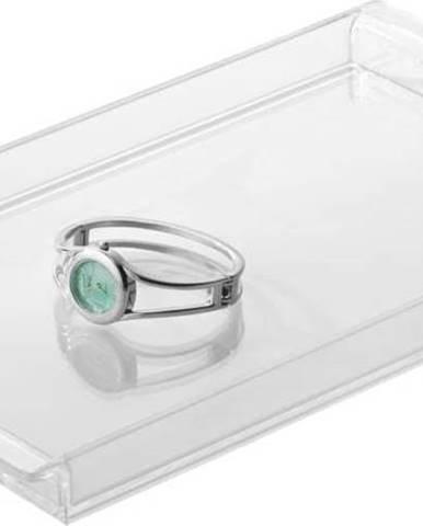 Podnos iDesign Clarity Vanity Clear