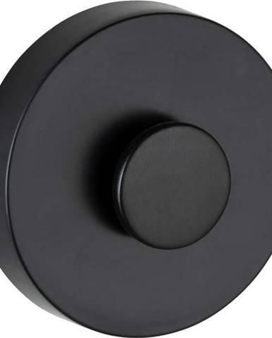 Sada 2 černých samodržících nástěnných držáků Wenko Power-Loc Classic Plus
