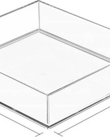 Transparentní organizér iDesign Clarity, 20x20cm