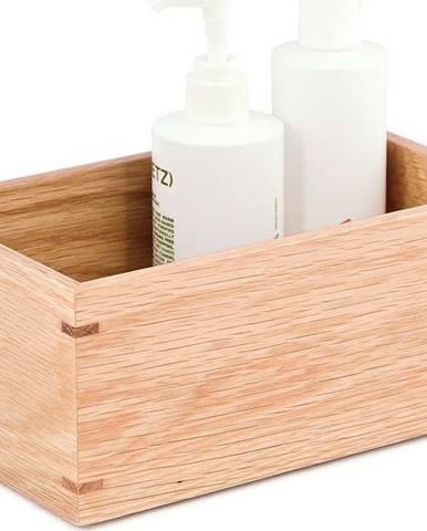 Úložný box z dubového dřeva Wireworks Mezza
