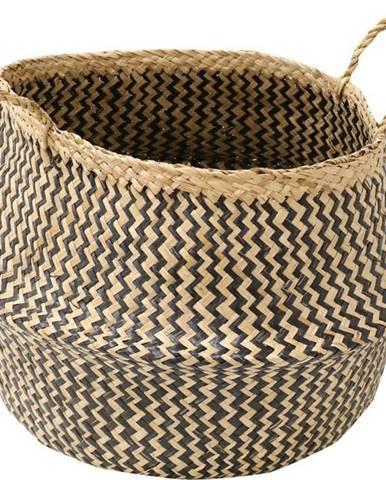 Úložný košík z mořské trávy Compactor Zic Zac, ⌀45cm