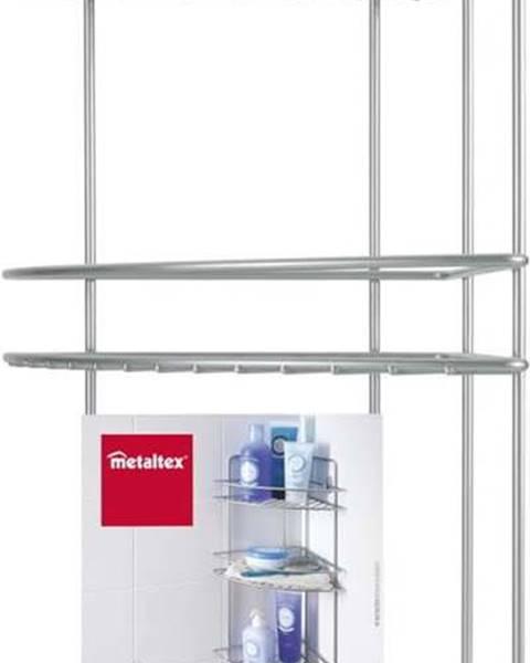 Metaltex Nástěnná rohová koupelnová polička se třema patry Metaltex Ref