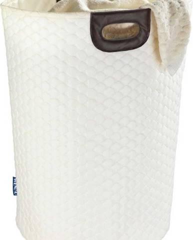 Béžový koš na prádlo Wenko Wabo, 75 l