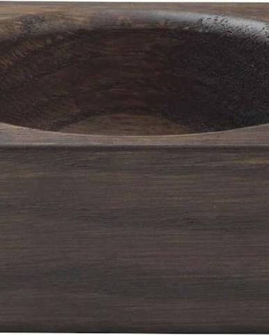 Hnědá odkládací miska z dubového dřeva Blomus Modo, 10x10cm