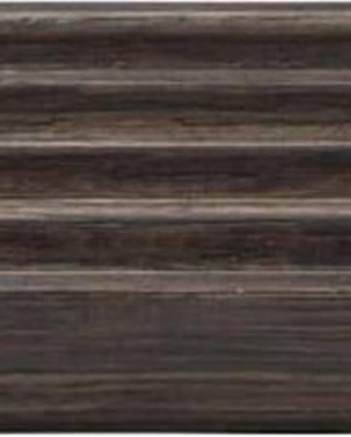 Hnědý koupelnový tác z dubového dřeva Blomus Modo, 20x10cm