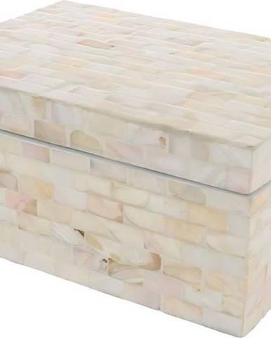 Krémový úložný box Compactor Haiphong Box