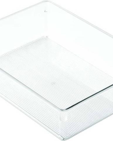 Průhledný organizér iDesign Linus, 23x30,5cm