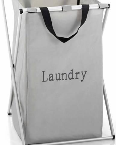 Šedý koš na prádlo Tomasucci Laundry, 46l