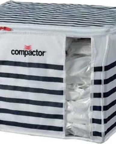 Úložný box na oblečení Compactor Medium Mariniere 3D Vacuum Bag, 125 l