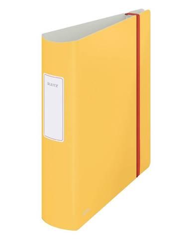 Žlutý pákový pořadač Leitz Cosy, A4