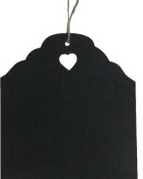 Antic Line Černá křídová cedule Antic Line Blackboard, 20 x 31 cm