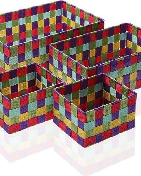 VERSA Sada 4 úložných košíků Versa Giardino