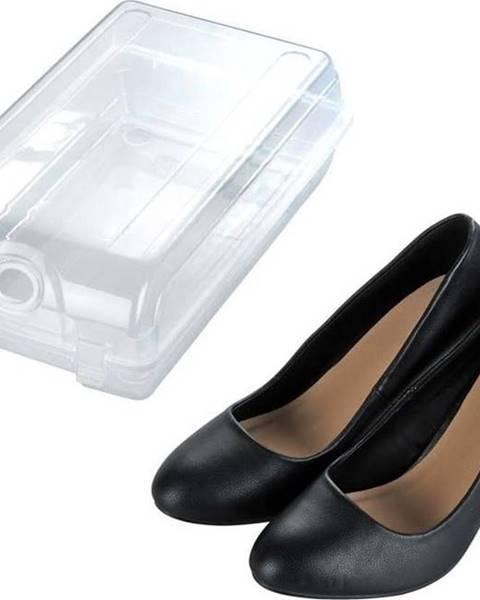 WENKO Transparentní úložný box na boty Wenko Smart, šířka 19,5 cm