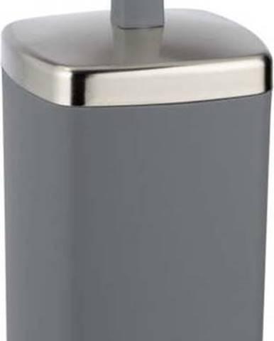 Antracitový WC kartáč Wenko Barcelona
