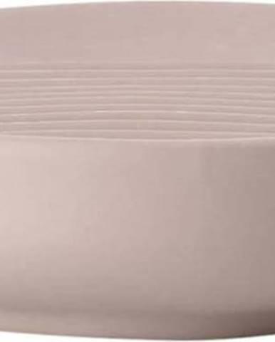 Béžová porcelánová podložka na mýdlo Zone Ume