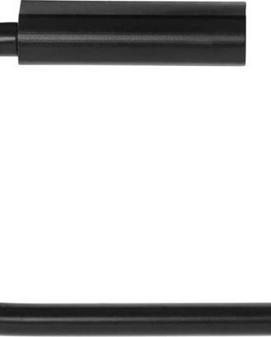 Černý nástěnný držák toaletního papíru Blomus Modo