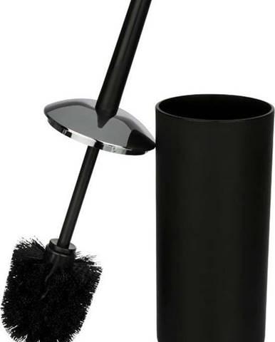 Černý toaletní kartáč Wenko Brasil