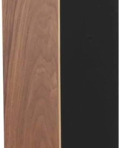 Černý zásobník na toaletní papír YAMAZAKI Rin Stocker, výška71cm